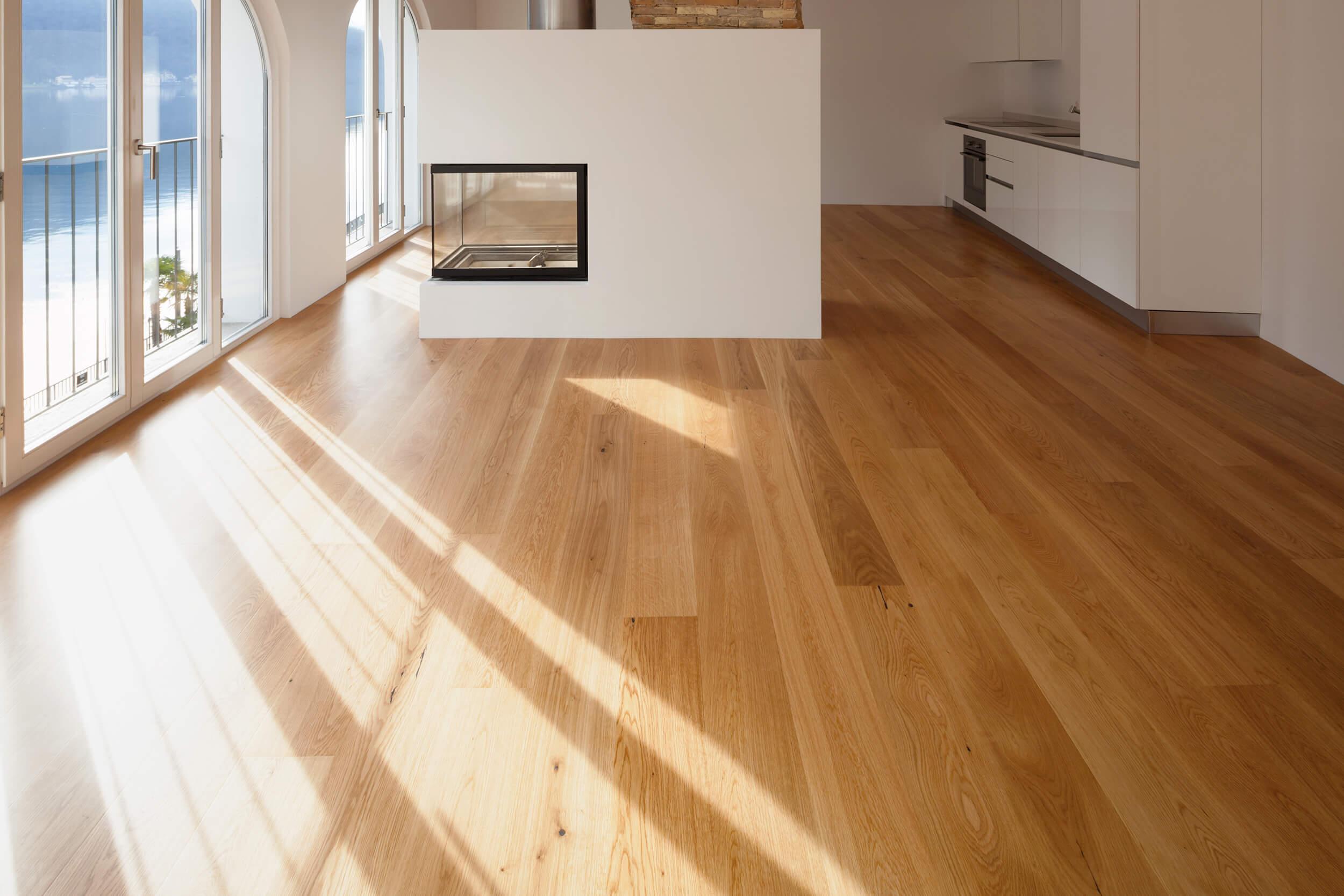Bild einer Wohnung mit Zentralem Kamin von der AMS Groupe